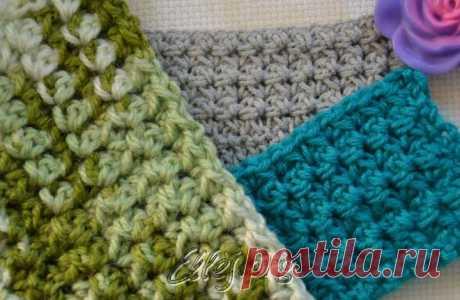 Плотный узор   Crochet by Ellej   Crochet by Ellej   Вязание крючком от Елены Кожухарь