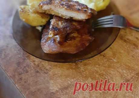 (7) Свинина в тесте с картошкой - пошаговый рецепт с фото. Автор рецепта Светлана . - Cookpad