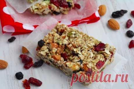 Орехово-злаковое печенье (без выпечки)