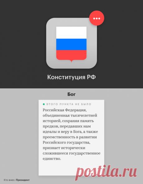 Как изменится Конституция России. Главные поправки :: Политика :: РБК
