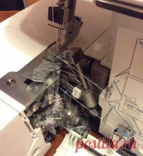 Как почистить швейную машинку (Шитье и крой) — Журнал Вдохновение Рукодельницы