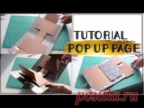 ПОП АП АЛЬБОМ / СКРАПБУКИНГ / ИНТЕРАКТИВНЫЙ ЭЛЕМЕНТ / TUTORIAL POP UP PAGE / SCRAPBOOK IDEAS