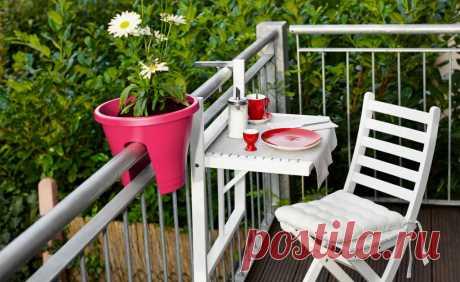 8 идей дизайна балкона