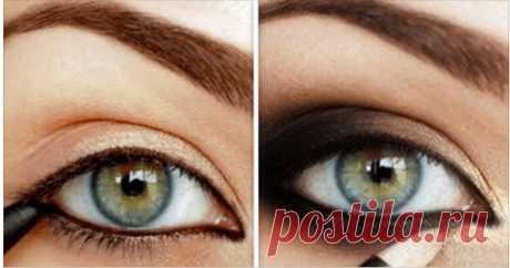 Уроки стиля: 15 лучших идей для макияжа глаз с инструкциями ...