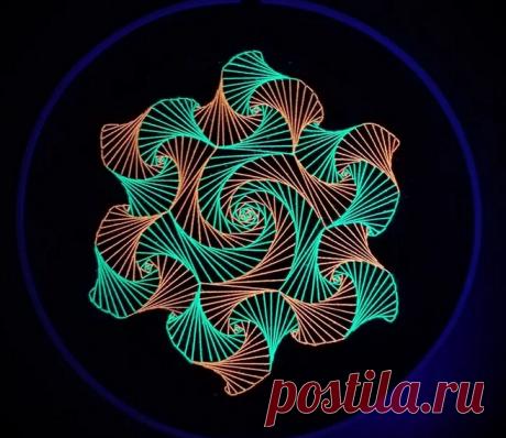 Успокаивающая вышивка-медитация: зендудлы   Рукоделие