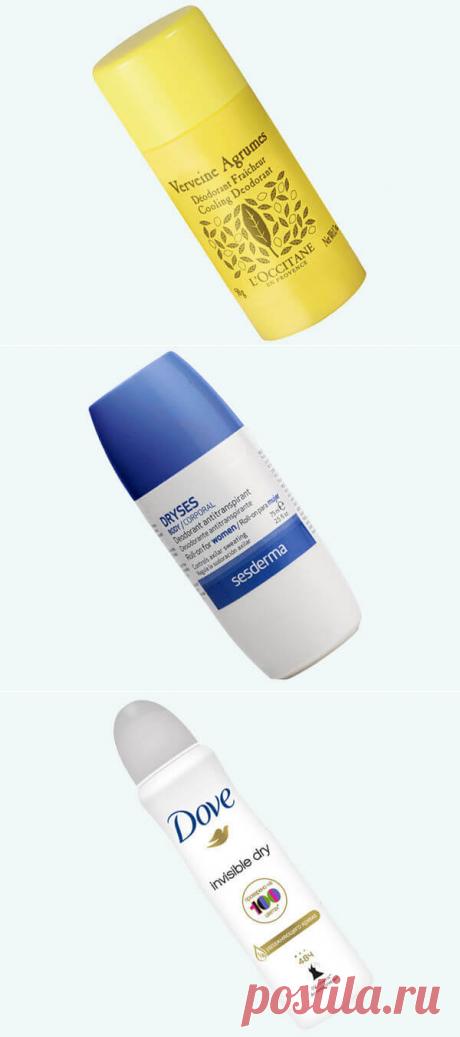 Почему ваш дезодорант не работает: семь популярных ошибок