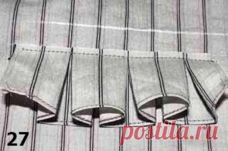 Оригинальная отделка швейных изделий   pokroyka.ru-уроки кроя и шитья