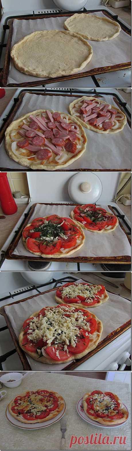 Пицца по домашнему | Здоровый мир