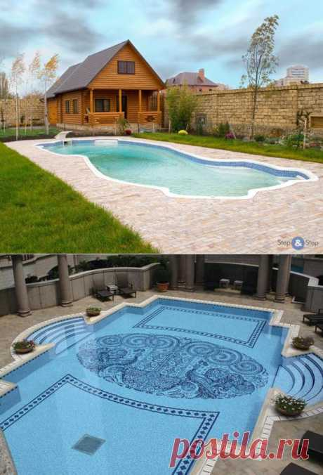 How to build the pool most at the dacha or a country house?.