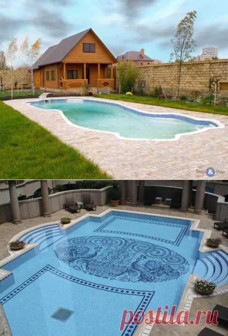Как построить бассейн самому на даче или загородном доме?.