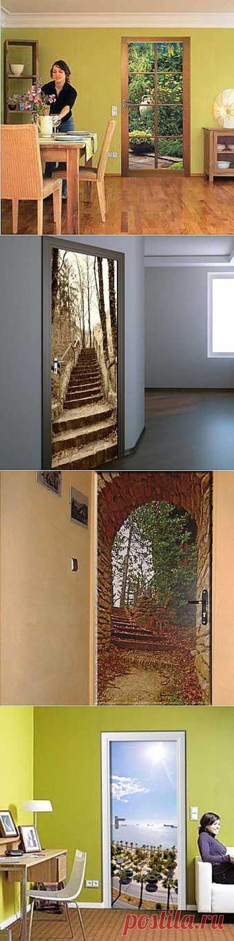 Наклейки на двери: современный дизайн вашей комнаты - Учимся Делать Все Сами