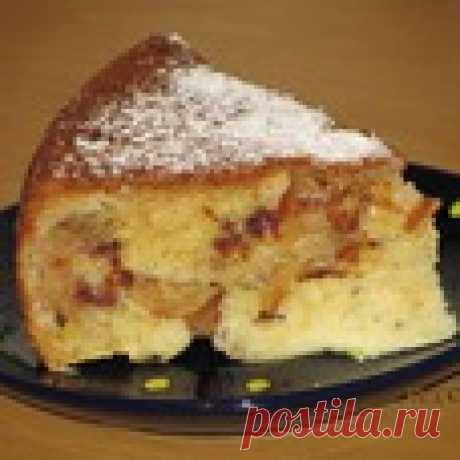 Яблочный пирог в аэрогриле Кулинарный рецепт