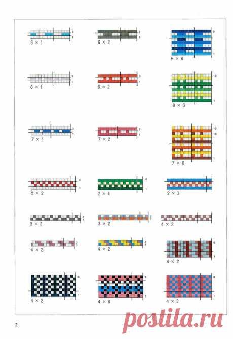 -вязание спицы - жаккарды - Самое интересное в блогах