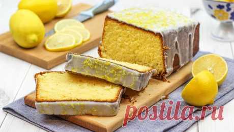 🍋 Лимонный Кекс (Лучший рецепт! Тает во рту! Очень мягкий и сочный!)   Домашние рецепты с Любовью   Яндекс Дзен