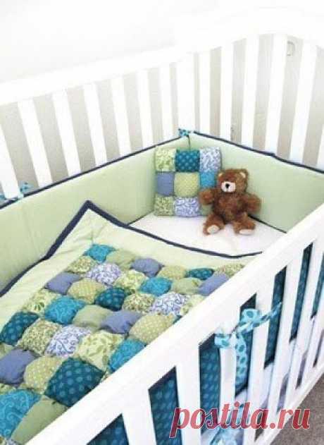Декор детской кроватки своими руками / Необычные поделки