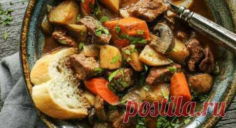 Гуляш по-венгерски с салом в мультиварке - Пошаговый рецепт с фото своими руками. Мультиварю