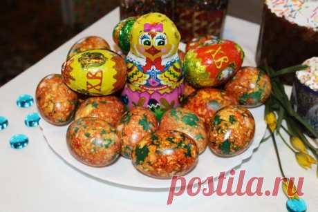 Проверенный способ окраски яиц на пасху / Пасха / 7dach.ru