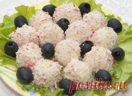 Праздничные сырные шарики