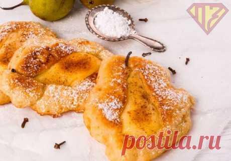 Польские оладьи с грушами