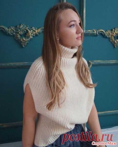 Модный жилет - Вязание - Страна Мам