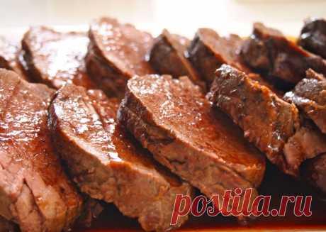 Томленая свинина для бургеров