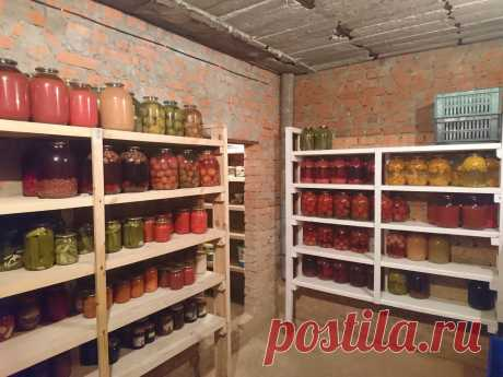 Как сохранить выращенный урожай овощей и фруктов