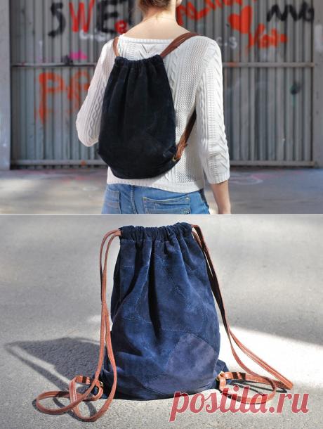 Как сшить рюкзак своими руками :: Мода и стиль :: Все о детях