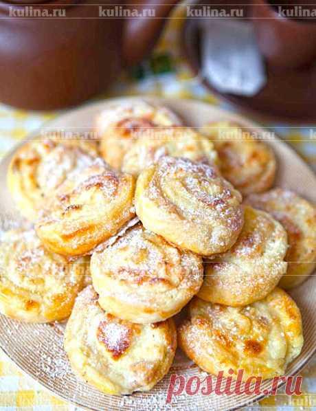 Ванильные булочки с творогом – рецепт приготовления с фото от Kulina.Ru