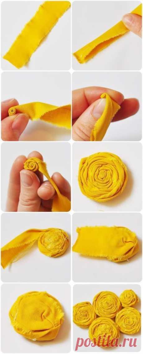 Цветы своими руками 29 мастер классов