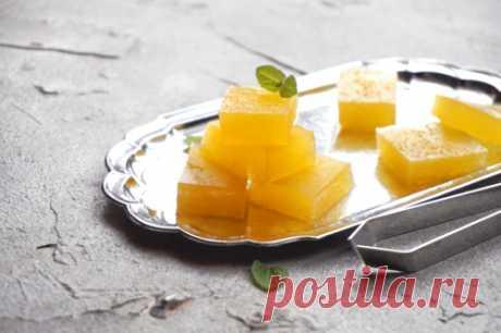 Апельсиновый ПП-мармелад