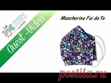 Mascherina Fai da Te | TUTORIAL - HobbyPerline.com