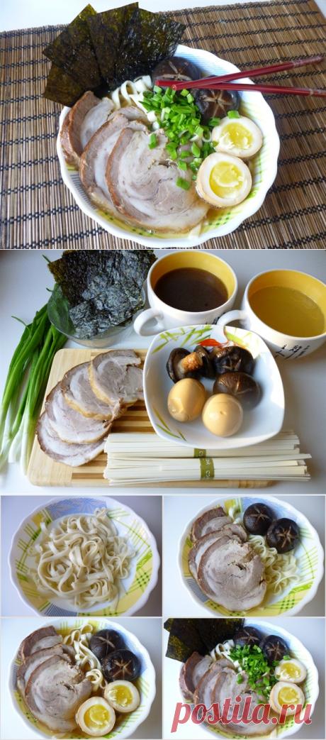 Рамэн (лагман по-японски) | Четыре вкуса