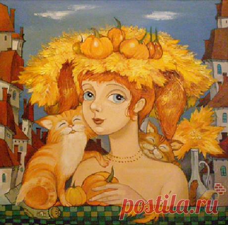 Романтический , сказочный и трогательный мир Ольги Володарской-Ищук