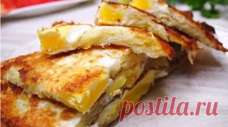 """""""Картошка + яйца"""" или как я готовлю простой и вкусный завтрак за пару минут!"""