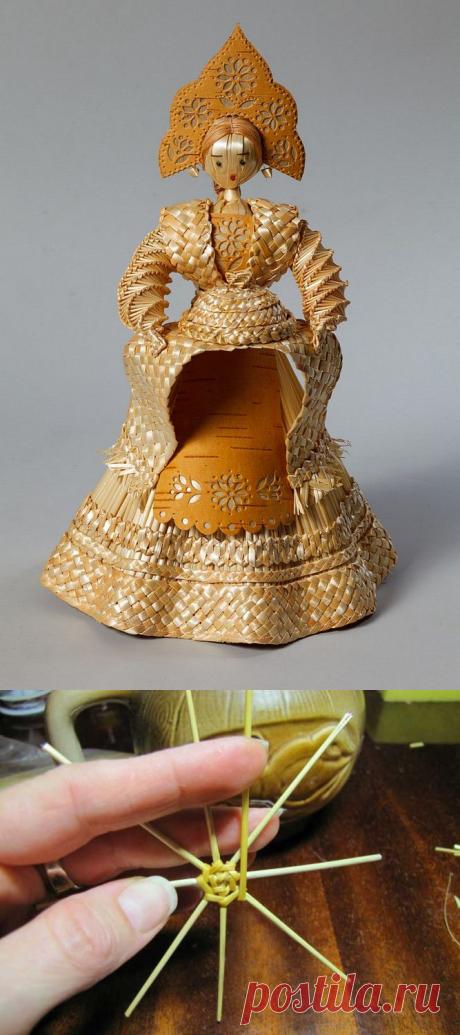 Плетение из соломки: Изумительно теплые работы — Делаем Руками