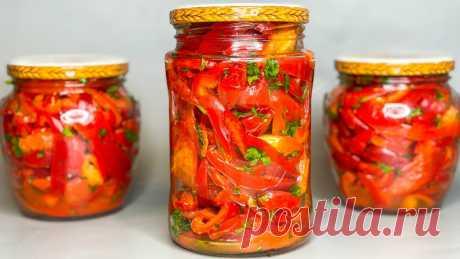 Болгарский перец по-Корейски на зиму | Вкусная Жизнь | Яндекс Дзен