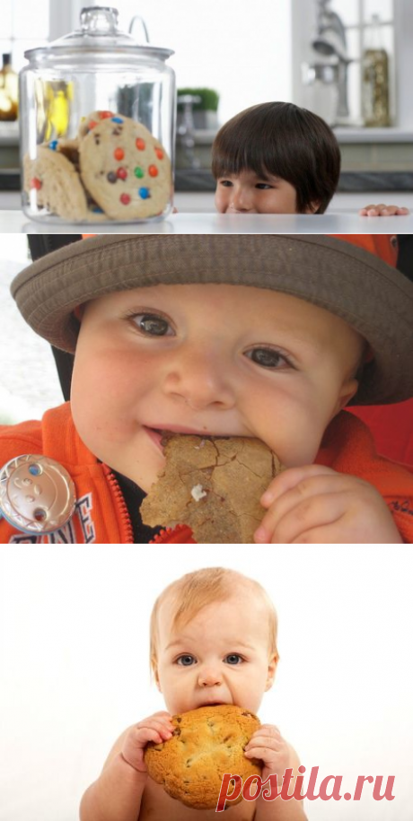 Печенье для малышей: когда давать, рецепты