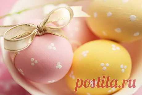 Нежная открытка с праздником светлой Пасхи