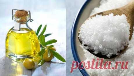 Женщина залила обычную соль маслом… Спустя сутки ее муж вздохнул с облегчением - interesno.win Все, что вам нужно, — соль и масло. Многие из нас иногда...