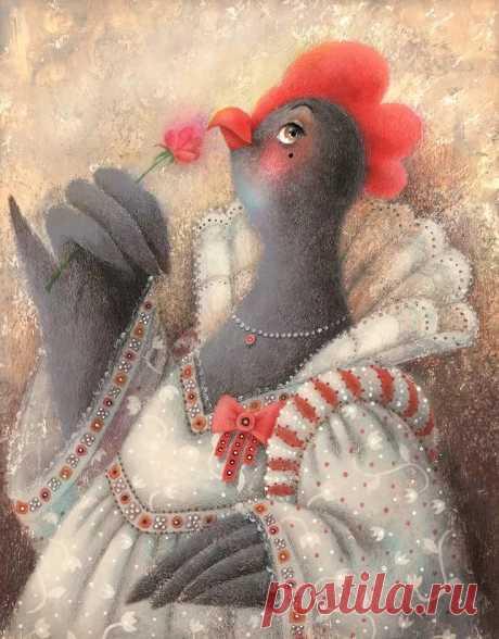 старинные изображения курицы: 9 тыс изображений найдено в Яндекс.Картинках