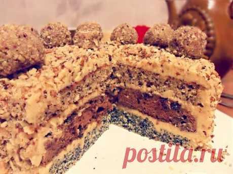 Как приготовить трехслойный торт - рецепт, ингредиенты и фотографии