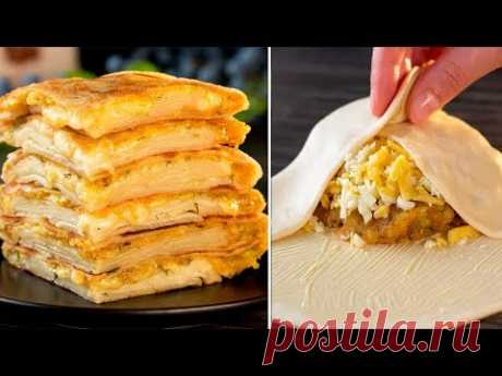 Идеальный рецепт для тех, кто не умеет или не любит печь - лепешки с картошкой! | Appetitno.TV