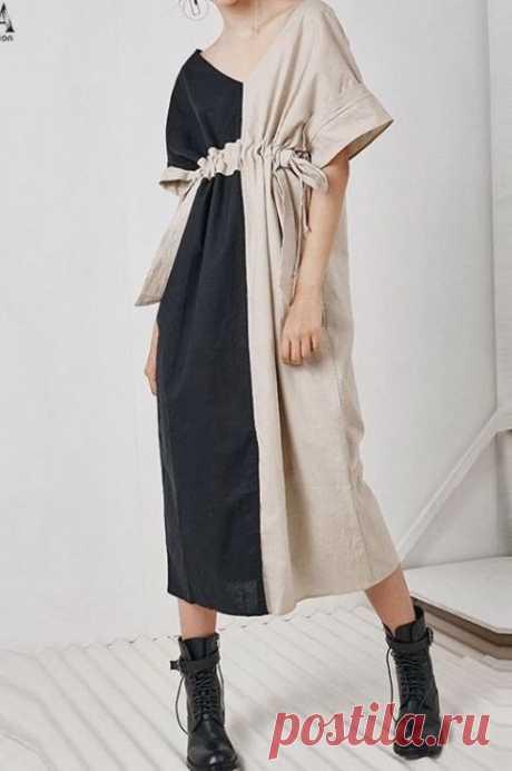 Простая выкройка классного платья