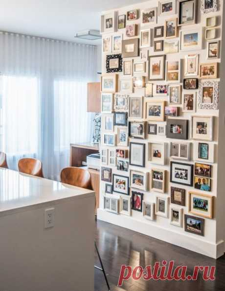 Рамки для фотографий на стену: коллажи для интерьера и 80+ избранных решений по композиции