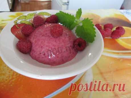 Крем из малины с желатином рецепт с фото пошагово - 1000.menu