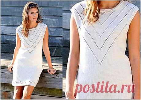 Красивые ажурные платья спицами, не требующие особых усилий | Paradosik_Handmade | Яндекс Дзен