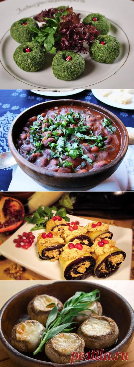 Семь ну очень душевных блюд грузинской кухни