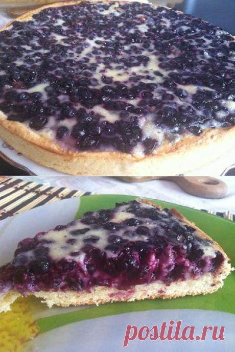 Пирог с любой начинкой от Аллы Будницкой. Проще не бывает. Рецепт с фотографиями. Обсуждение на Блоги на Труде
