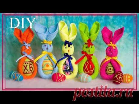 DIY: Easter bunny | ПАСХАЛЬНЫЙ ЗАЙЧИК