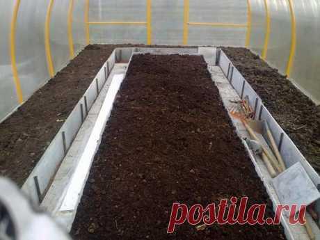 Правила обработки земли в теплице | 6 соток